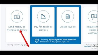 PAYPAL SEND MONEY to FAMILY and FRIENDS (no transferring fee)