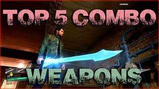 Dead Rising 4: Top 5 New Combo Weapons!
