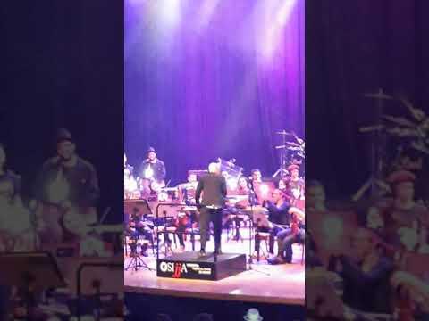 Orquestra sinfônica jovem de Jacareí e luana camara