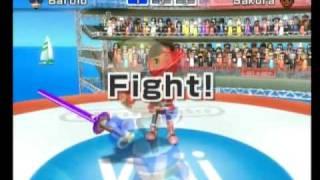 Wii Sports Resort- Swordplay Duel: 2500 Skill Level Isn't Enough!