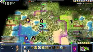 Civ 4 Deity 18, The Praetorian rush part 1 of 2