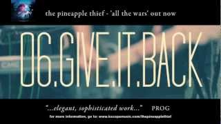 The Pineapple Thief - Give it Back video teaser (from All the Wars)