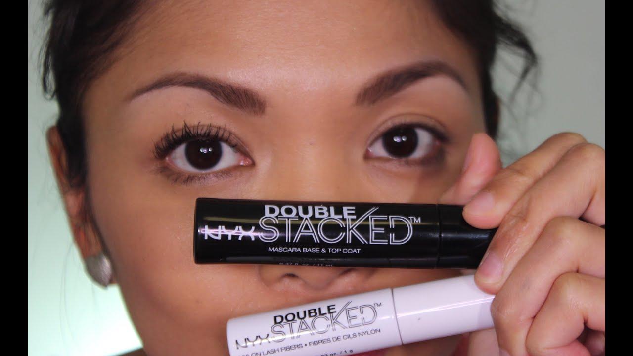 9a85a268cf0 NYX Double Stacked Fiber Lash Mascara   Review - YouTube