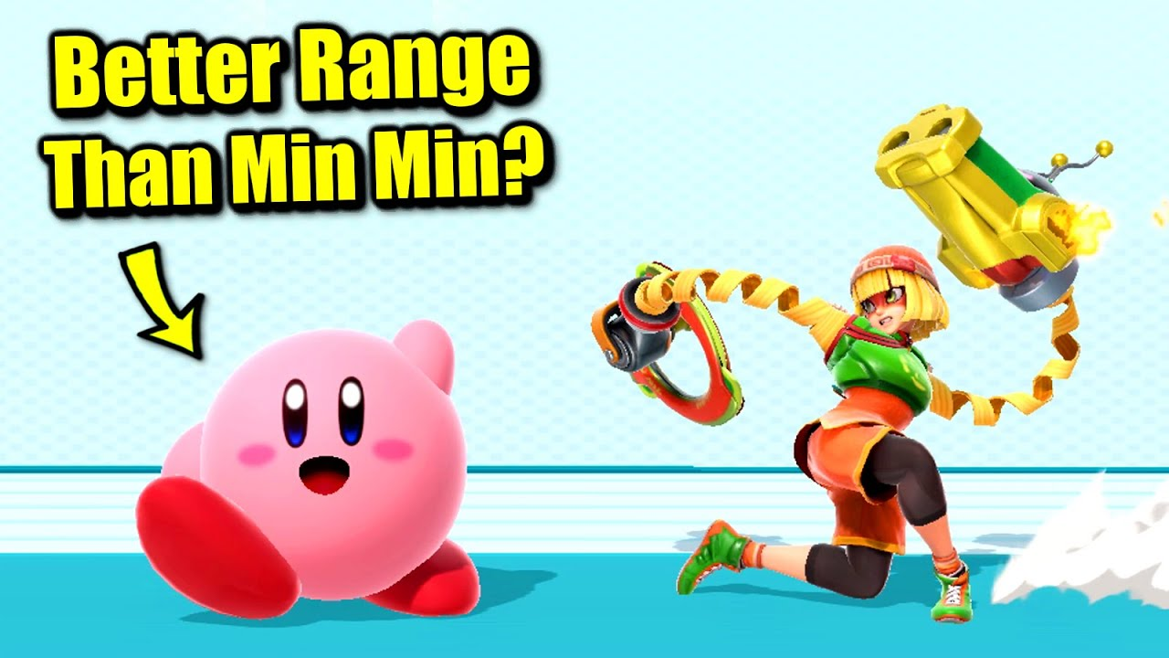 Who Can Beat Min Min's Range in Super Smash Bros. Ultimate?