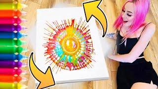 I Tried VIRAL Spin FLUID ART !