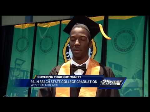 Palm Beach State College graduation
