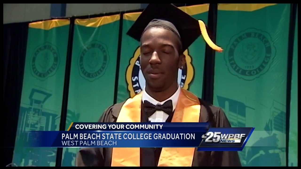 Palm Beach State College graduation - YouTube
