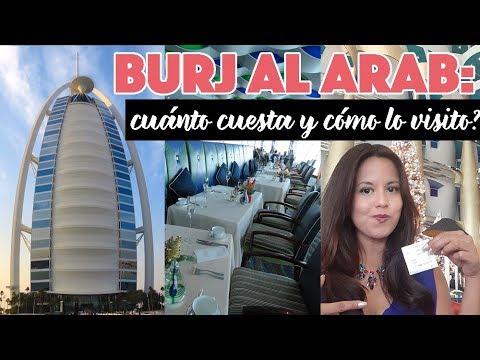 ¿Cuánto Cuesta Visitar En Burj Al Arab En Dubai?