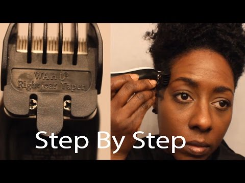 Spring Natural Hair Tapered Cutting Step by Step + Fixing my Mess Up....lol
