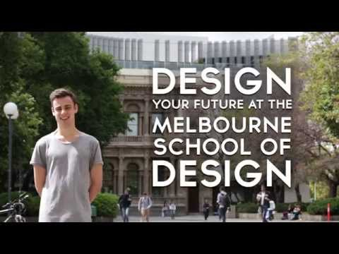 Design your future at the Melbourne School of Design