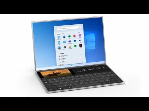 Microsoft представили новый Windows 10X !