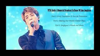 Jonghyun Memorial Broadcast (Re-Uploaded)