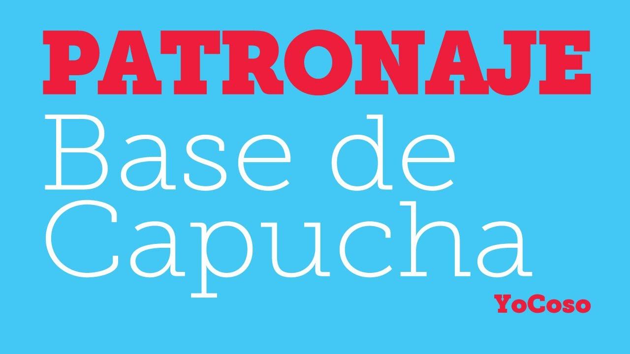 Patronaje: Patrón Base de Capucha - YouTube