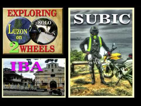 EXPLORING LUZON on 2 WHEELS 1DAY 300KM SOLO RIDE TO IBA ZAMBALES