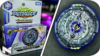 Takara TOMY Beyblade Burst B-102 Booster Twin Nemesis 3h UL Attack Booster for sale online