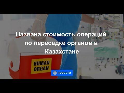 Названа стоимость операций по пересадке органов в Казахстане