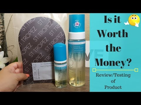 St Tropez | Self Bronzing Water Mousse | Review