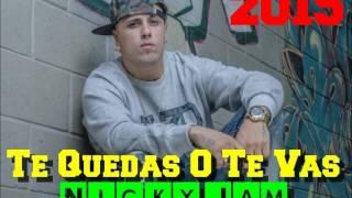 Te Quedas O Te Vas - Nicky Jam - Reggaeton Salsa 2015