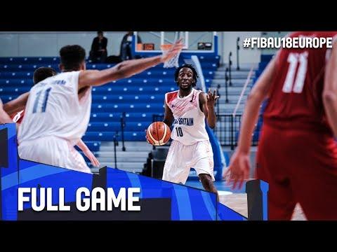 Great Britain v Bulgaria - Full Game - Quarter-Finals - FIBA U18 European Championship 2017 - DIV B