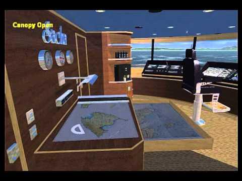 DVOMarineDesign exploration yacht SACHA bridge