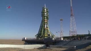 Вывоз РКН «Союз ФГ» с ТПК «Союз МС 02»