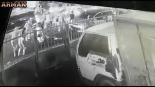 Rekaman CCTV Detik Detik Tragedi Pembacokan Di Kapas Krampung