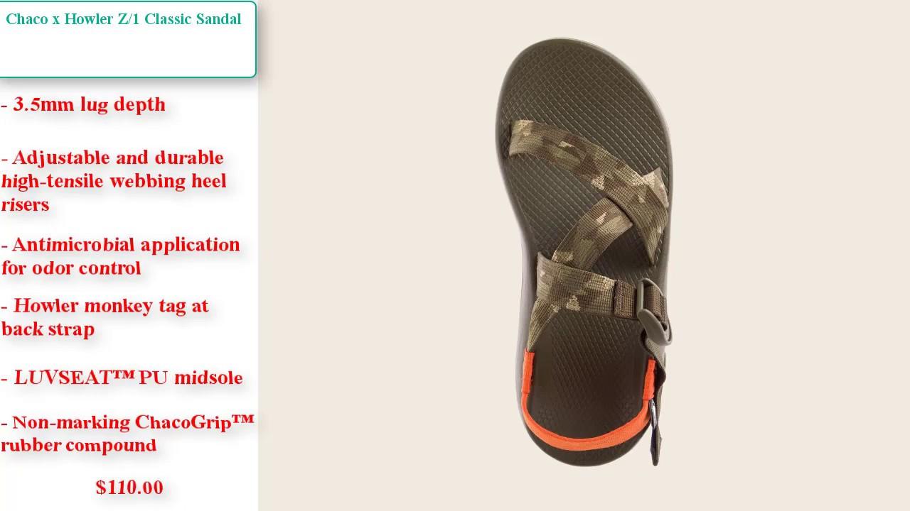 96d59bc255eb Chaco x Howler Z1 Classic Sandal
