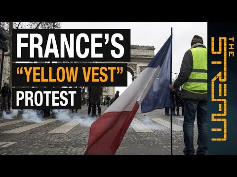 """What do """"yellow vest"""" protests mean for France? l The Stream"""