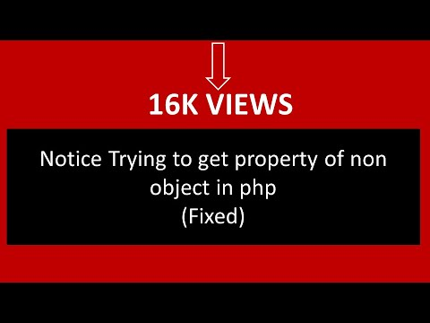 Trying to get property of non-object wordpress