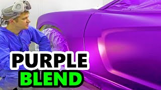 Purple Metallic Paint Job - Dodge Charger