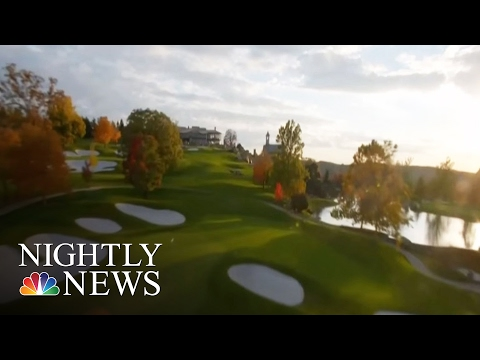 Sinkhole on Missouri Golf Course Uncovers Amazing Underworld | NBC Nightly News