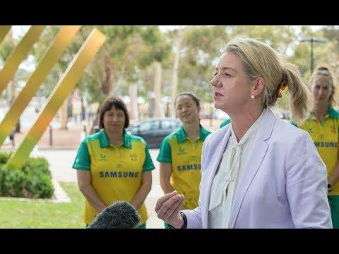 Senator Bridget McKenzie announces funding for Women in Sport Initiative
