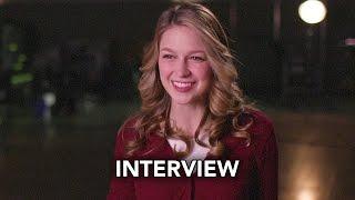 dc week crossover melissa benoist interview hd supergirl the flash arrow dc s legends
