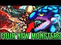 FOUR NEW MONSTERS in Expansion Event Mod + New Armor VS Pro + Noob - Monster Hunter World PC Mods!