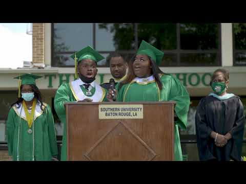Southern University Laboratory School Spring 2020 Virtual Commencement