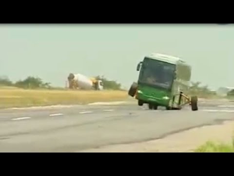 Bus Wheel Test and electronic system