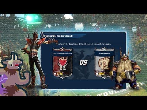 Blood Bowl 2 - Drink Drink Revolution v. Dorfs - Match 11