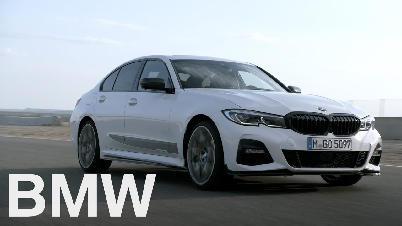 Bmw 3 Series G20 >> The all-new BMW 3 Series. BMW M Performance Parts (G20, 2018) - YouTube