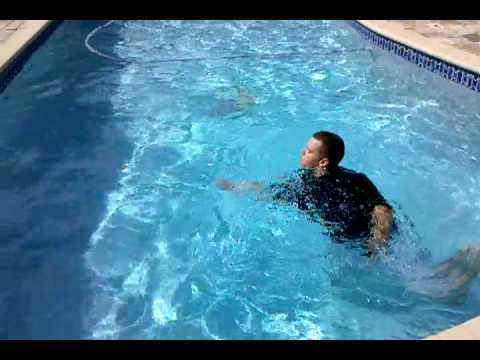 Kid gets sucked in whirlpool