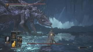 Dark Soul 3: The Ringed City DLC - Darkeater Midir Hidden Boss Fight NG+ (Both Encounters)