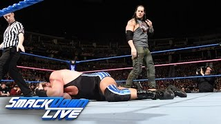 Jack Swagger vs. Baron Corbin: SmackDown LIVE, Oct. 18, 2016