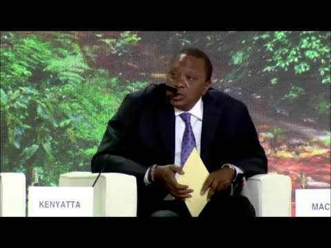 PRESIDENT UHURU KENYATTA PLEDGES TO UN ENVIRONMENT ASSEMBLY!!!