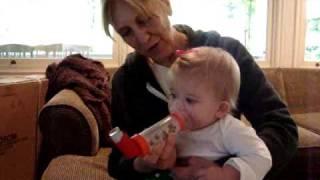 Asthma Inhaler Months Old Delaney Can Do It