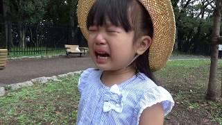 【姉妹】泣く真似をする1歳 次女 泣きわめく長女 4歳 とにかく泣く まりいずキッズハート thumbnail