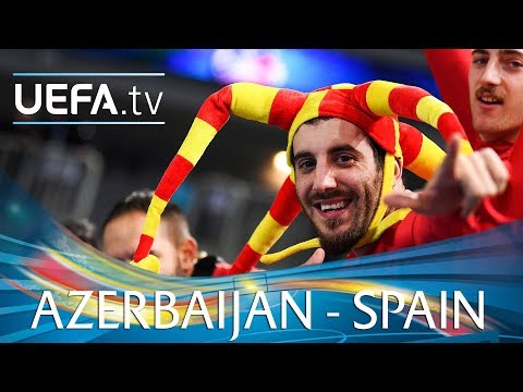 Futsal EURO highlights: Azerbaijan v Spain