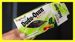 Dudu Osun African Black Soap Review, Get rid of acne! Fade acne scars!