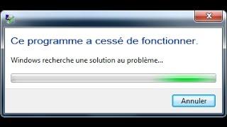 Comment r soudre le probl me de a cess de fonctionner facilement sur PC