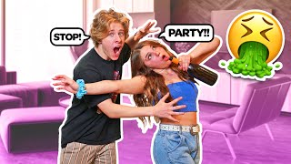 """DRUNK"" GIRLFRIEND PRANK ON BOYFRIEND **We Broke Up**🥂💔