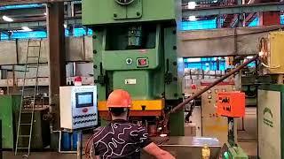 hot stamping machine Горячая штамповка