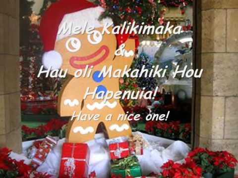 Santa Island-Hawaiian Style Christmas Song - Na Leo